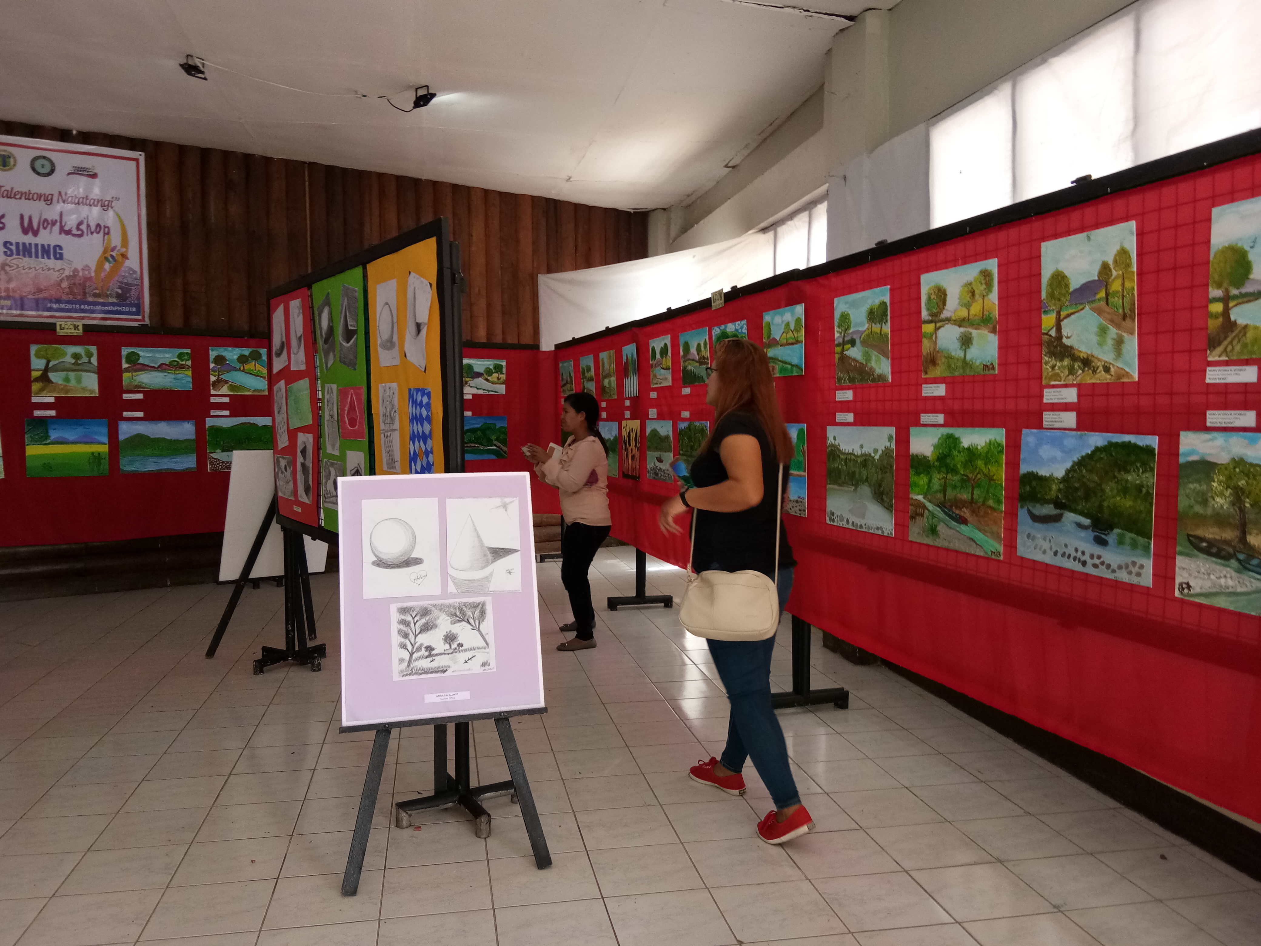 Paintings, art of prov'l gov't employees featured in Cagayan